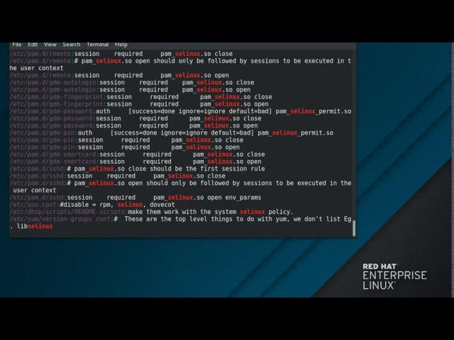 22. Использование Grep RHEL 7.4 Beta (Maipo)
