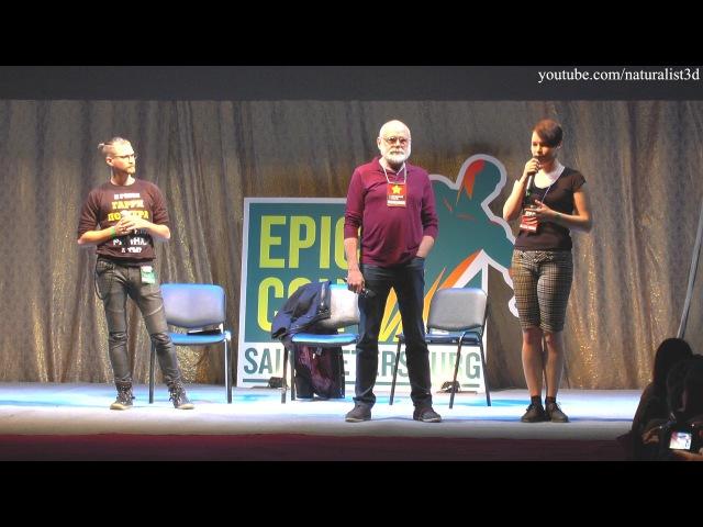 Интервью Кевина Макнелли (Джошами Гиббса) из фильма ПиратыКарибскогоморя /Epic Con Saint Petersburg 2017/
