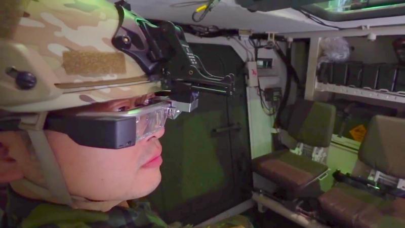 Система панорамного видения для бронетехники компании NCSIST