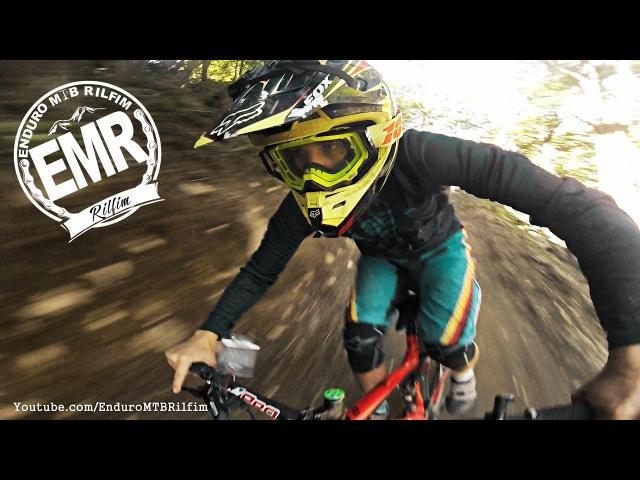 Mountain Biking RAW BIKE BikePark Nevado de Chillan Enduro MTB