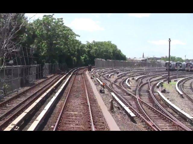 ᴴᴰ R1-9 M Train RFW Footage - Metropolitan Avenue-Essex Street