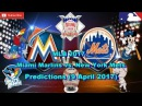 MLB The Show 17 Miami Marlins vs. New York Mets Predictions MLB2017 (9 April 2017)