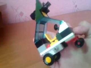 Lego две машины для выживания
