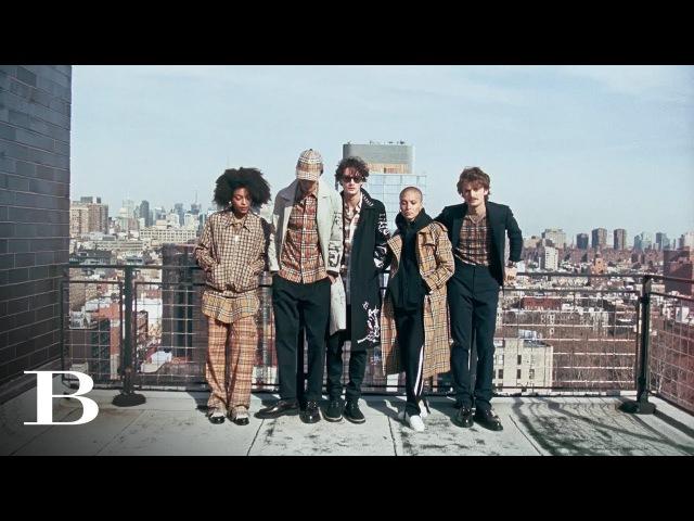Juergen x Adwoa Take New York Juergen Teller And Adwoa Aboah For Burberry