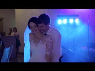 Очень трогательный свадебный танец! Первый танец жениха и невесты