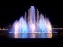 Поющий фонтан ночью Мой ласковый и нежный зверь Олимпийский парк Сочи