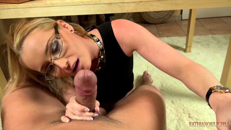 Kathia Nobili - Blackmailing in the office - Fuck that bitch BOSS mouth to keep your job!!!