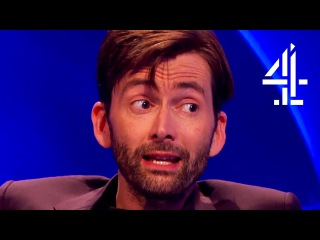 David Tennant Creeps Everyone Out With His English Villain Accent |