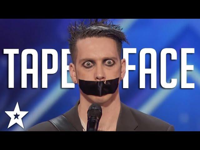 Tape Face Auditions Performances America's Got Talent 2016 Finalist