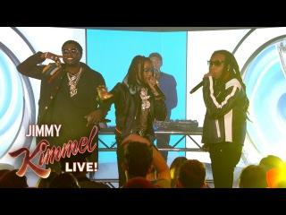"""Gucci Mane & Migos Perform """"I Get The Bag"""""""