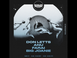 More Than Post Punk: Don Letts, Anu, Farai, Big Joanie
