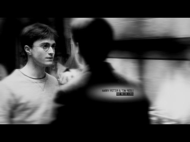 ◄ harry potter / tom riddle.   take you like a drug