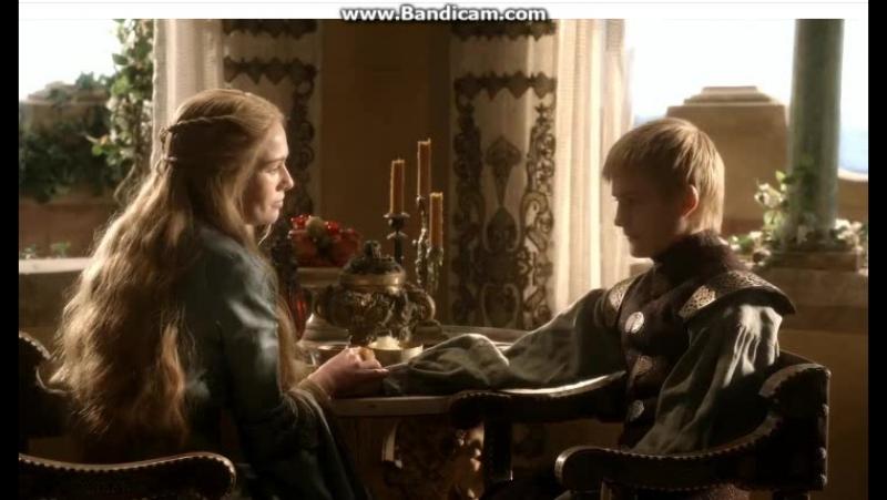 Игра престолов Серсея учит сына уму разуму obovsem играпрестолов джоффрибаратеон тирионланнистер сансастарк джонсноу теонгрейд