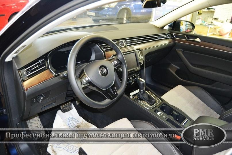 Шумоизоляция Volkswagen passat b8…, изображение №24