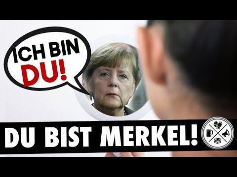 Du bist Merkel Das Haifischmaul der Multikultis