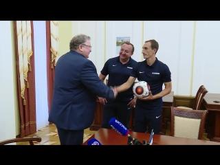Встреча Главы Мордовии с футболистами.