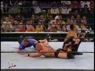 Rock VS Brock Lesnar на Summerslam 2002