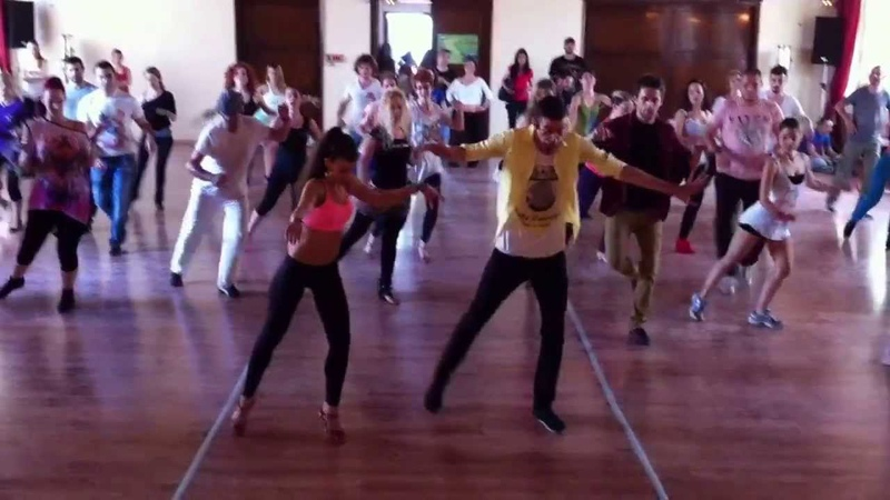 Pachanga Workshop Panagiotis Myrto @ 4th Athens Salsa Spring Fest 2013