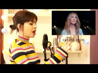 Девушка поет голосами 10 знаменитостей #2 (Demi Lovato, Celine Dion, Selena Gomez )