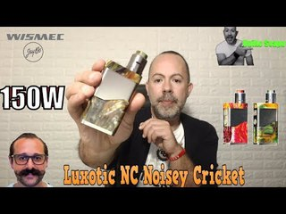 Luxotic NC 150W 20700 Kit with Guillotine V2 by WISMEC - UnikoSvapo Recensione 2018