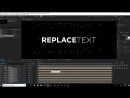 Splice Text And How To Create Any Title After Effects Tutorial