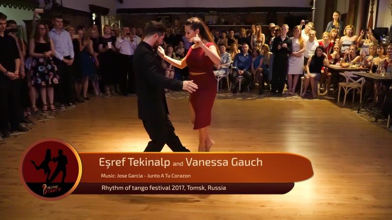 Esref Tekinalp and Vanessa Gauch 1 4 RTF 2017 Tomsk