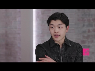 [video] maia and alex shibutani talk about the lack of asian representation in american pop culture and why bts are icons.