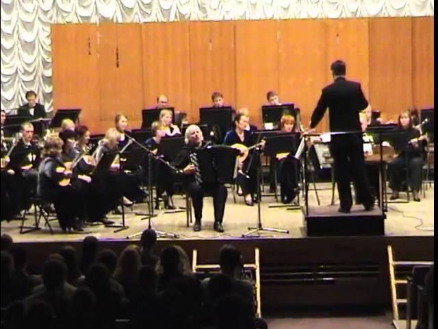 Шендерёв Концерт для баяна с оркестром Волжкие картины Александр СКЛЯРОВ