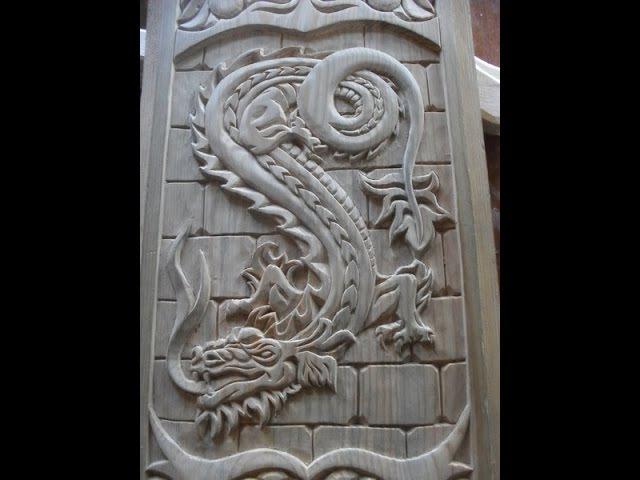 Резьба по дереву.Работы мастера Карпова Александра.The masters of woodcarving, Alexander Karpov.