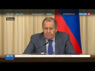 Лавров_ обвинения России в организации переворота в Черногории высосаны из пальцев