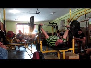 Атлет ТБ (Atlet TV extreme bench press 55) першість Славути з екстримжиму штанги лежачи 55кг
