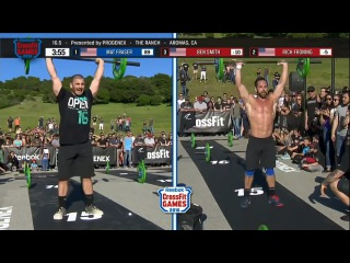 Mat Fraser Vs Rich Froning Vs Ben Smith Crossfit Battle of Champions