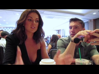 Serinda Swan & Anson Mount for Marvel's Inhumans at SDCC 2017