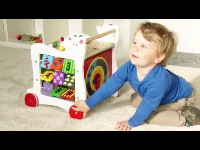 Lauflernwagen Bär, small foot - Wozu braucht man noch einen Kinderwagen