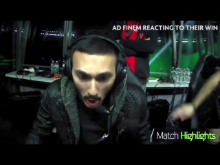 Dota Boston Major Moment - Live Cam Adfinem Reaction To Their Win