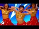 London School of Bollywood SURPRISE Britain's Got Talent Judges! | Got Talent Global