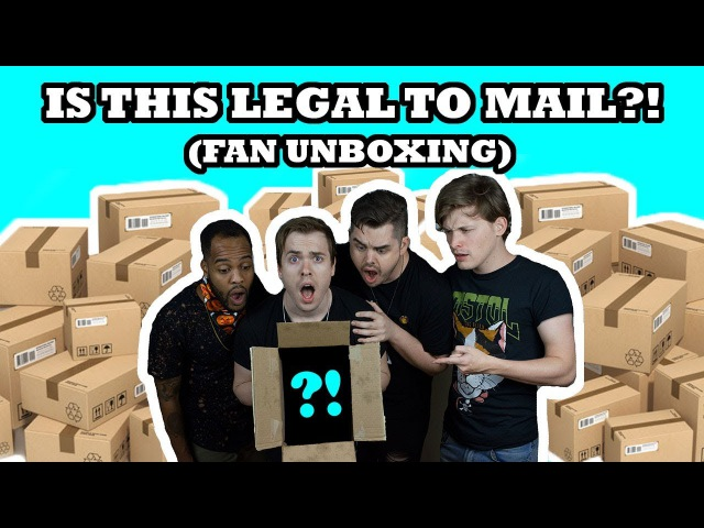 IS THIS LEGAL TO MAIL?! (FAN UNBOXING)