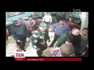Украинские священники устроили драку в ночном клубе