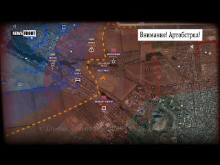 Украинские боевики обстреливают прифронтовые территории ДНР