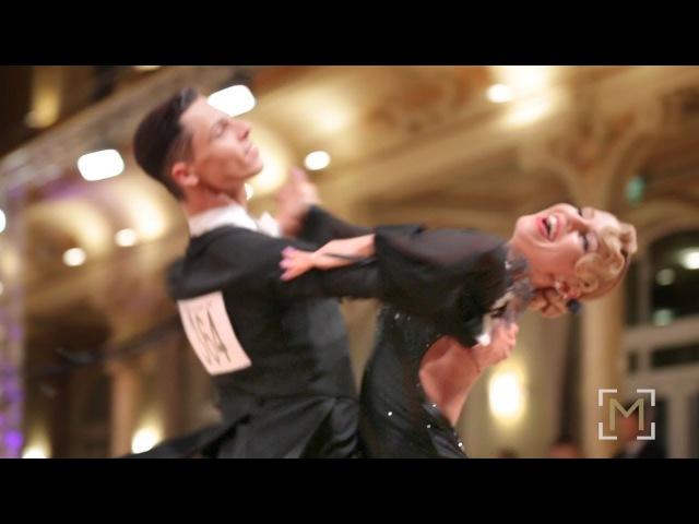 Tomas Fainsil - Violetta Posmetnaya | Solo Waltz | danceComp Wuppertal 2017 - WDSF WO STD