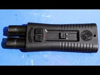 Обзор и распаковка  средства самообороны ЧАРОДЕЙ для стрельбы аэрозольными зарядами и ракетами