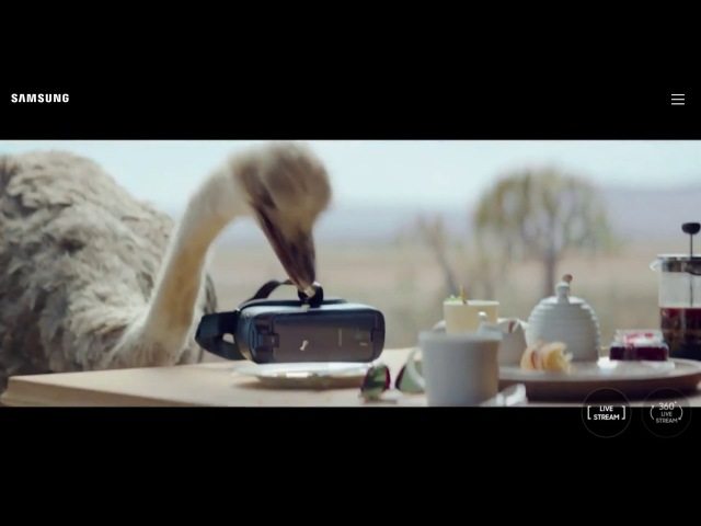 Do What You Cant Samsung best commercial - DoWhatYouCant Ostrich