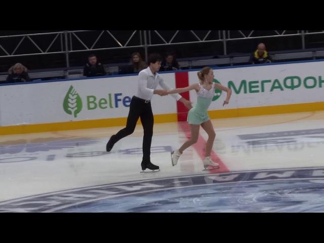 Алина Устимкина-Никита Володин, Minsk Ice Star_Pairs, FS