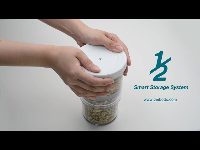 The ½ Smart Storage System by Botto Design