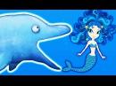 Съедобный Океан! ХИЩНЫЙ ДЕЛЬФИНЧИК ест РУСАЛОК Мультяшная игра про голодную рыб