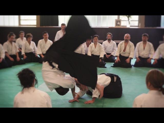 Aikido Yoko Okamoto Sensei Berlin 2017