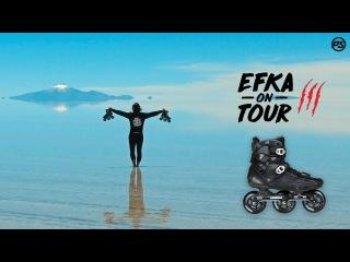 EFKA ON TOUR III - Ewelina Czapla on Powerslide HC Evo Pro Trinity skates