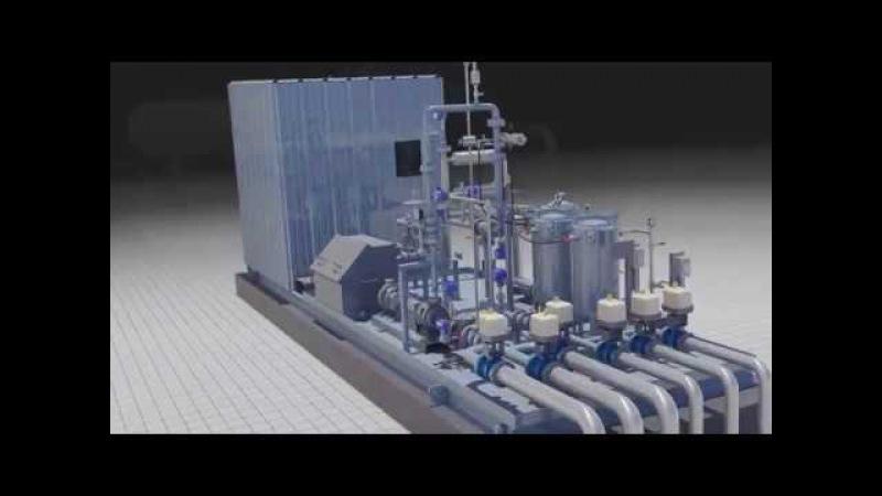 DXP Multi Well LACT Unit 3D Animation