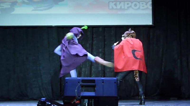 Animeday 2018 Енот и Мистерион