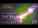 STAR GUARDIAN Vel'Koz Definitive FanArt VFX 20
